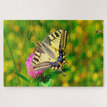 Swallowtail Butterfly. Jigsaw Puzzle