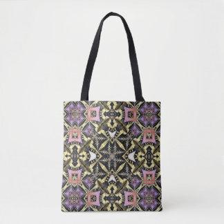 Swallowtail butterfly kaleidoscope tote bag