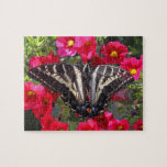 Swallowtail Butterfly on Flowers Puzzles