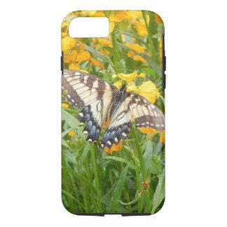 Swallowtail Butterfly  on Siberian Wallflowers iPhone 8/7 Case