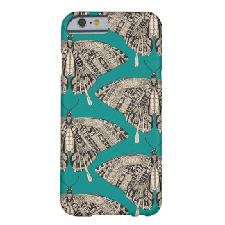 swallowtail butterfly teal black barely there iPhone 6 case
