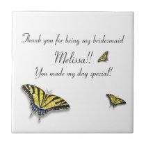 Swallowtail Butterfly Trivet Birdesmaid Home Gift