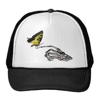 Swallowtail butterfly trucker hat