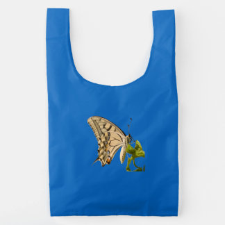 Swallowtail Butterfly Vector Isolated Reusable Bag