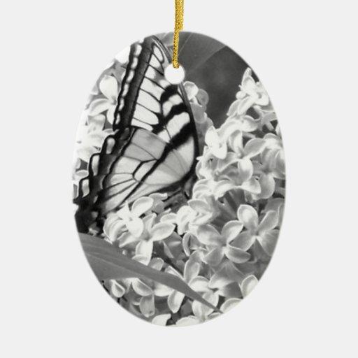 Swallowtail Ceramic Ornament
