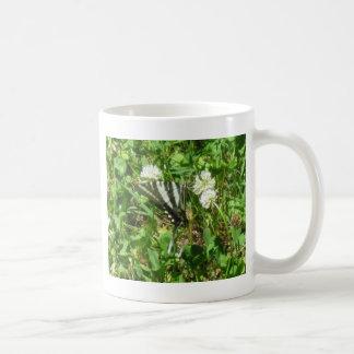 swallowtail de la cebra taza