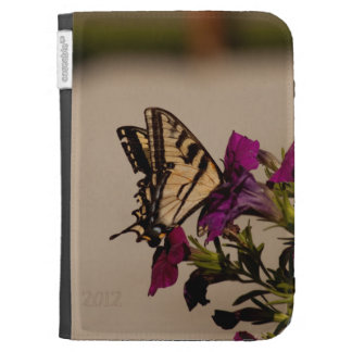 Swallowtail in the Petunias Case For The Kindle
