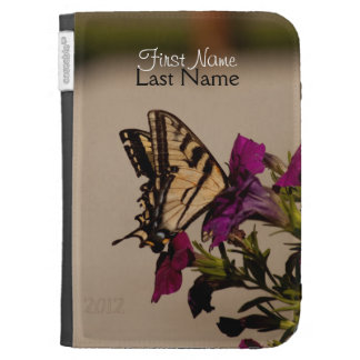 Swallowtail in the Petunias; Customizable Cases For The Kindle