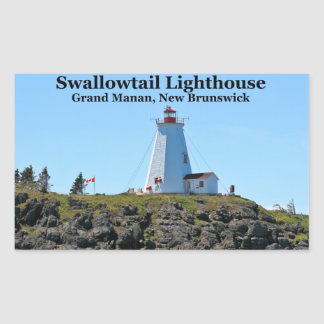 Swallowtail Lighthouse, Grand Manan, N.B. Stickers