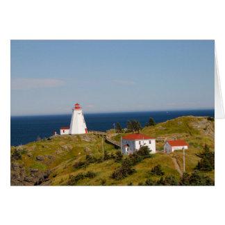 Swallowtail Lighthouse, Grand Manan, NB Greeting Card
