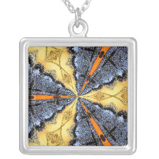 Swallowtail Medallion Necklace
