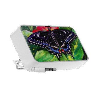 Swallowtail negro portátil altavoces
