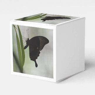 Swallowtail negro cajas para regalos