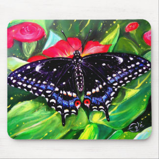 Swallowtail negro mouse pads
