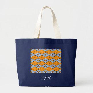 Swallowtail Pattern Large Tote Bag