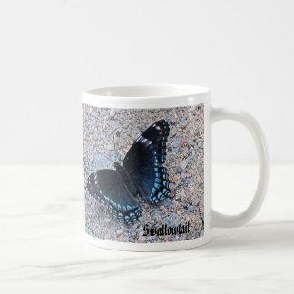 Swallowtail y nave de podadoras taza