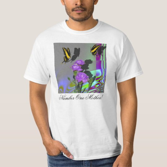 Swallowtails and Carnations T-Shirt