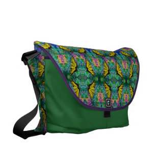Swallowtails Large Messenger Bag