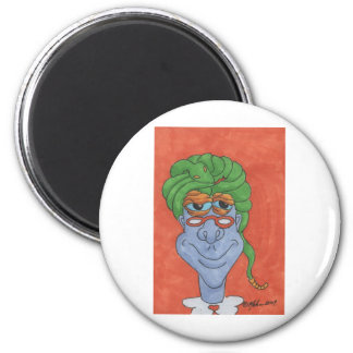 Swami the Monster 2 Inch Round Magnet