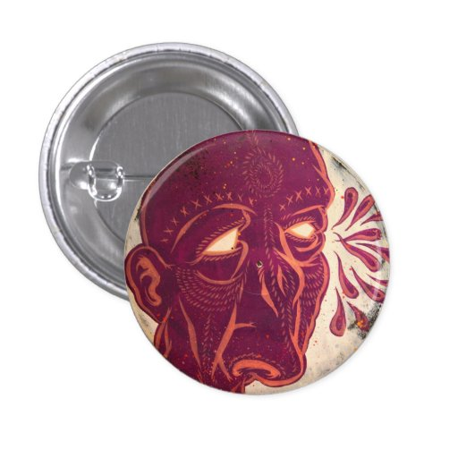 Swami Visions Pinback Button