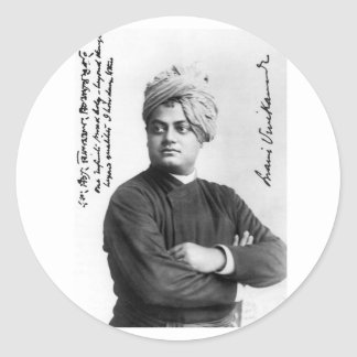 Swami Vivekananda 1893 photo sticker