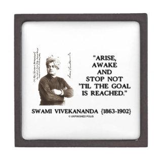 Swami Vivekananda Arise Awake Stop Not 'Til Goal Jewelry Box
