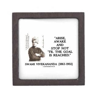 Swami Vivekananda Arise Awake Stop Not 'Til Goal Keepsake Box
