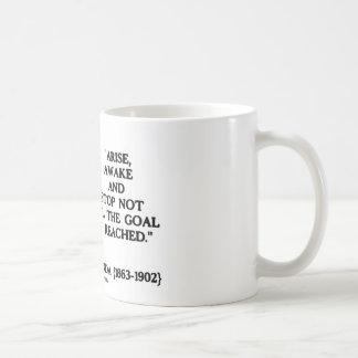 Swami Vivekananda Arise Awake Stop Not Til Goal Coffee Mugs