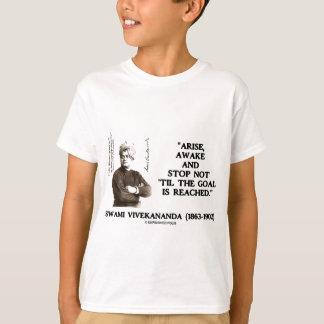 Swami Vivekananda Arise Awake Stop Not 'Til Goal T-Shirt