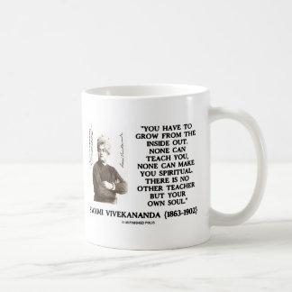 Swami Vivekananda Grow From Inside Out Own Teacher Coffee Mug