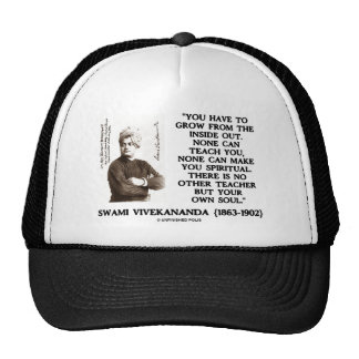 Swami Vivekananda Grow From Inside Out Spiritual Trucker Hat