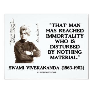 Swami Vivekananda Man Reached Immortality Material Custom Invitations