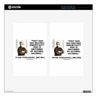 Swami Vivekananda Man Reached Immortality Material Kindle Fire Decal