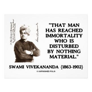 Swami Vivekananda Man Reached Immortality Material Personalized Letterhead