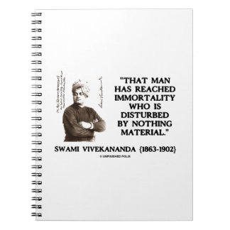 Swami Vivekananda Man Reached Immortality Material Notebook