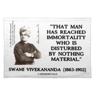 Swami Vivekananda Man Reached Immortality Material Placemat