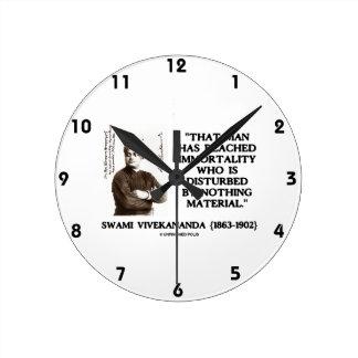 Swami Vivekananda Man Reached Immortality Material Round Clock