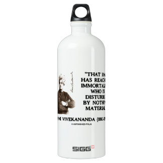 Swami Vivekananda Man Reached Immortality Material Water Bottle