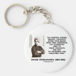 Swami Vivekananda Positive Strong Helpful Thoughts Keychain