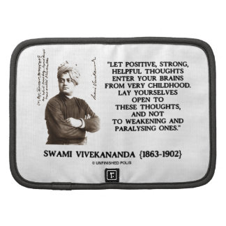 Swami Vivekananda Positive Strong Helpful Thoughts Planners
