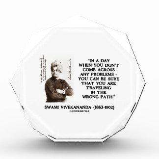 Swami Vivekananda Problems Traveling Wrong Path Award