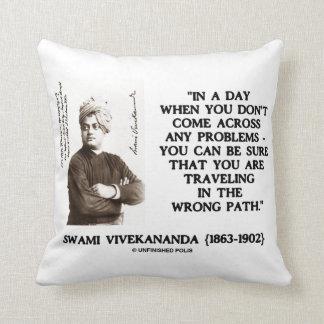 Swami Vivekananda que viaja en cita de la Cojín