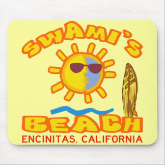 Swami's Beach Mouse Pad