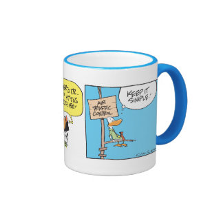 Swamp Air Traffic Controller Coffee Mug