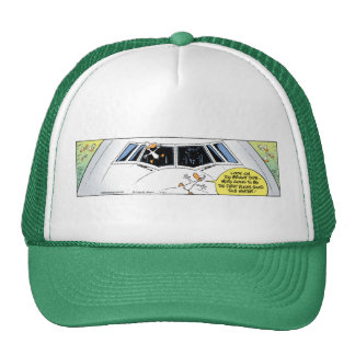 Swamp Airline Collision Cap