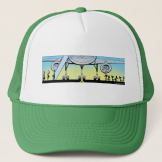 Swamp Airline Departure Trucker Hat