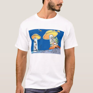 Swamp Alien Abduction T-Shirt