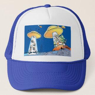 Swamp Alien Abduction Trucker Hat