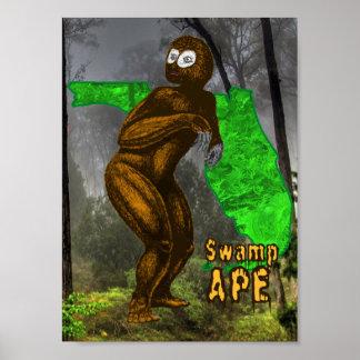 Swamp Ape Print