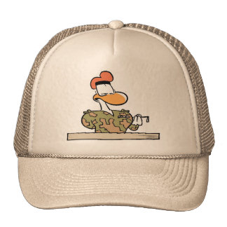 Swamp Army Recruitment Officer Trucker Hats
